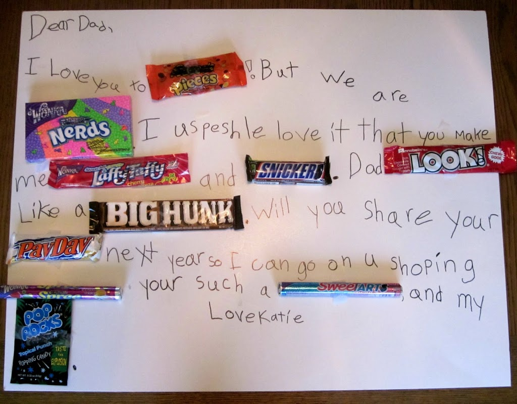 DIY Father's Day Gifts - Candy Poster Edition - Planning Playtime