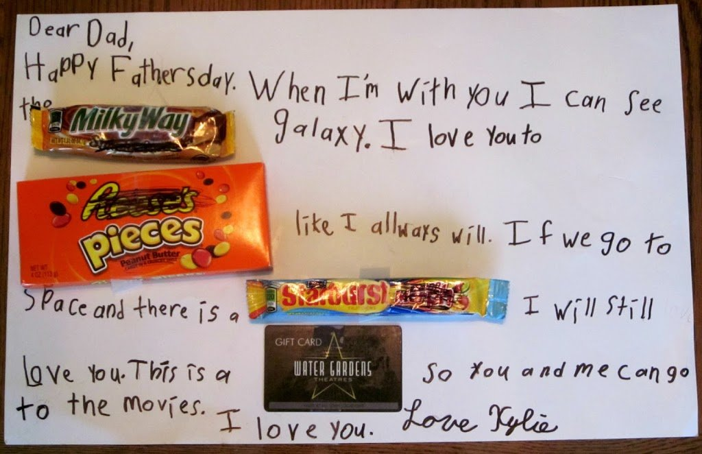 Diy Father S Day Gifts Candy Poster Edition Planning Playtime