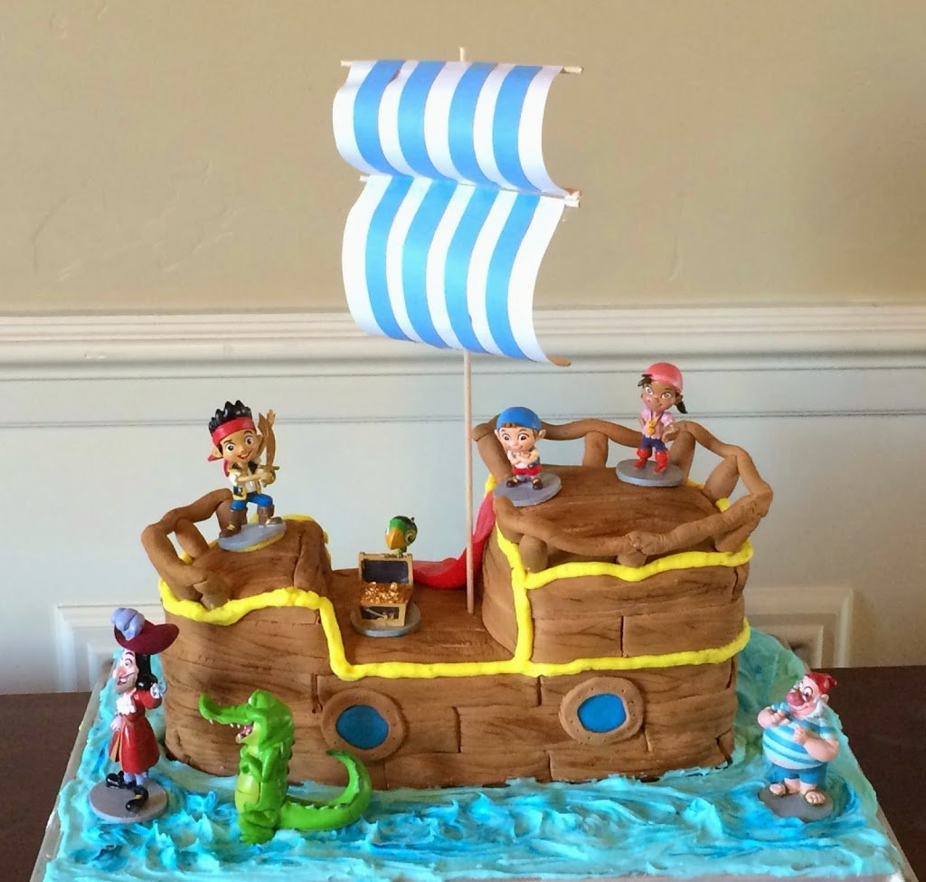 Jake and the Neverland Pirates Birthday Cake - Planning ...