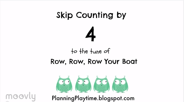 Skip Counting Fast And Easy Way To Memorize Your Multiplication