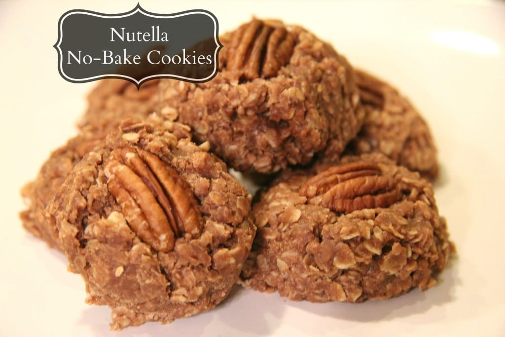 Nutella No-Bake Cookies - Planning Playtime