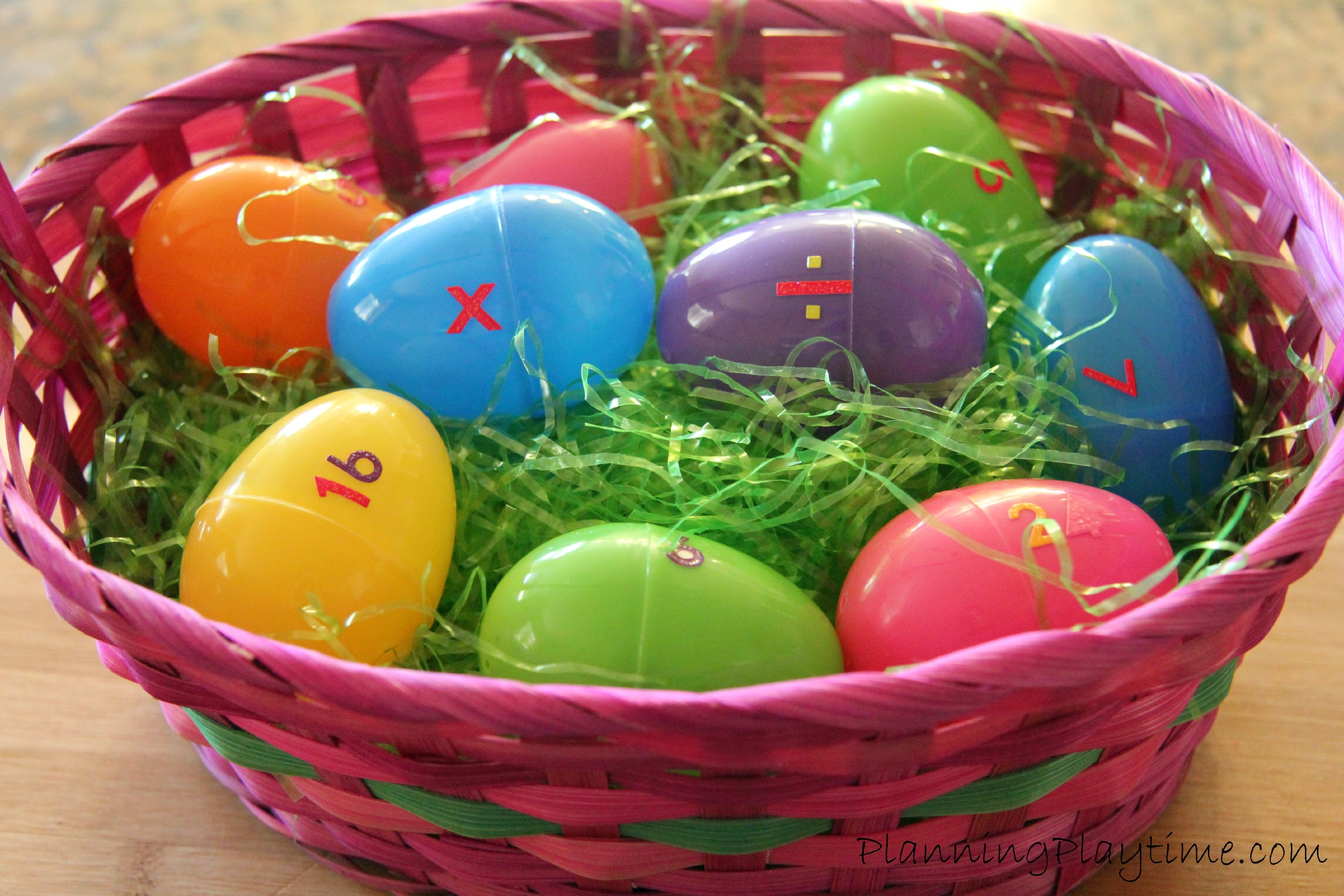 10 Educational Activities Using Plastic Easter Eggs - Planning Playtime