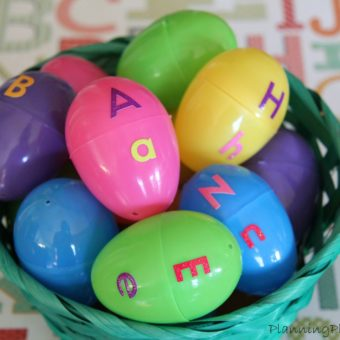 10 Educational Activities Using Plastic Easter Eggs