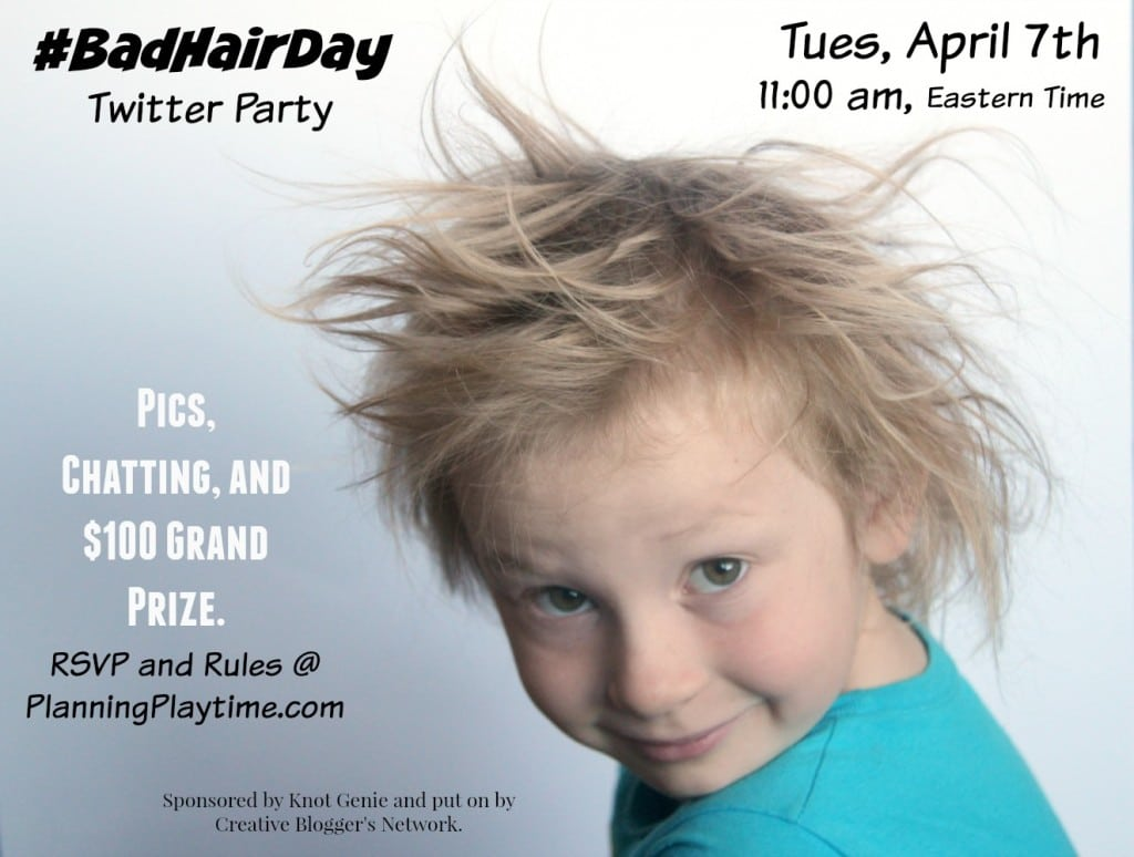 Bad Hair Day party image