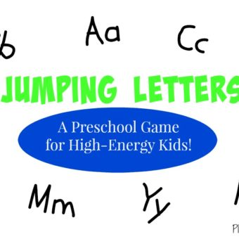 Jumping Letters – Preschool Letter Recognition Game