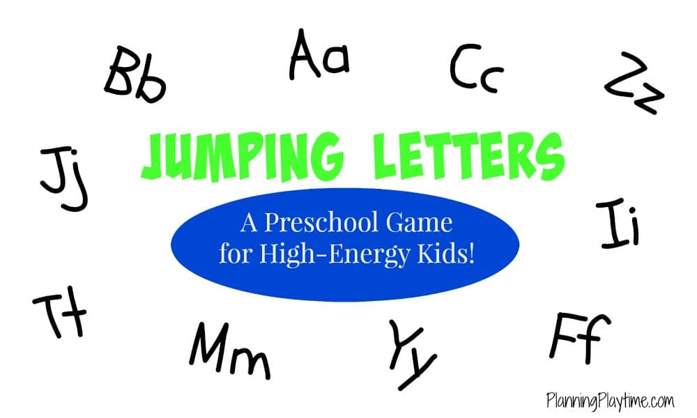 Jumping Letters - A Preschool Letter Recognition Game