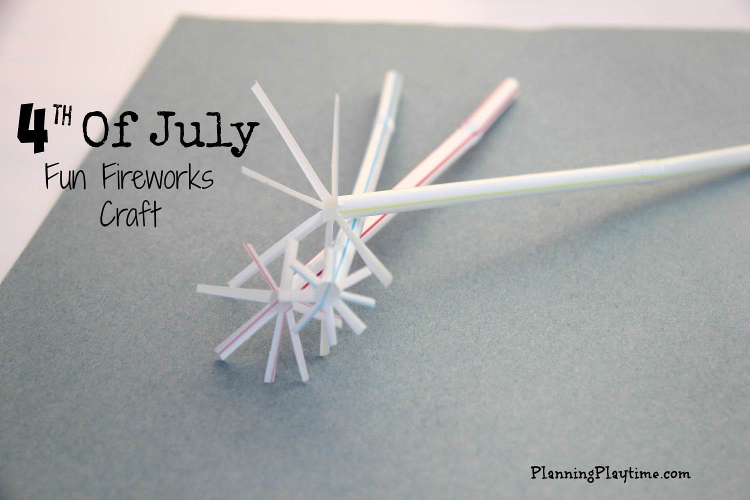4th of July Fun Fireworks craft