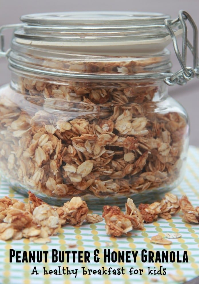 Peanut Butter And Honey Granola Recipe — Dishmaps