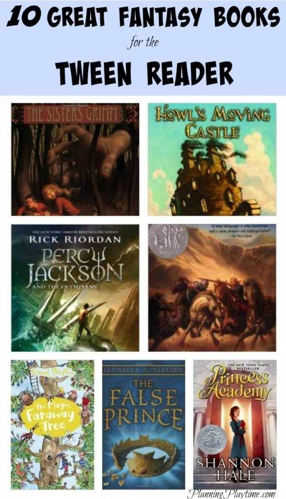 10 Great Fantasy Books for the Tween Reader