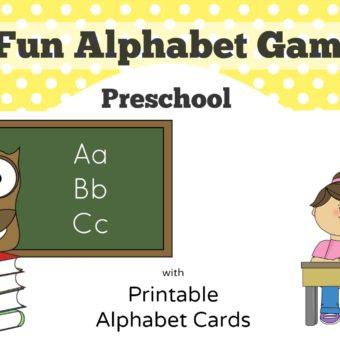 5 Fun Preschool Alphabet Games