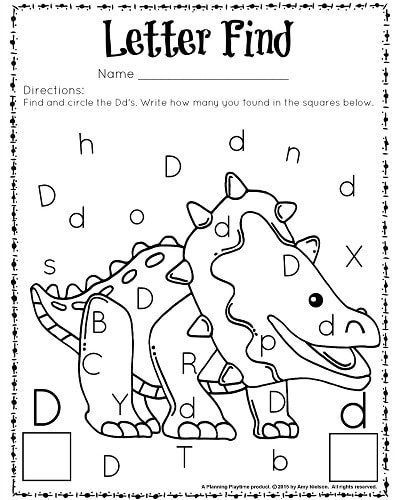 cute letter find worksheets with a freebie  planning playtime letter find worksheet for kindergarten and preschool great for letter  recognition and counting