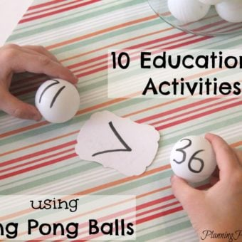 10 Educational Activities for Kids Using Ping Pong Balls