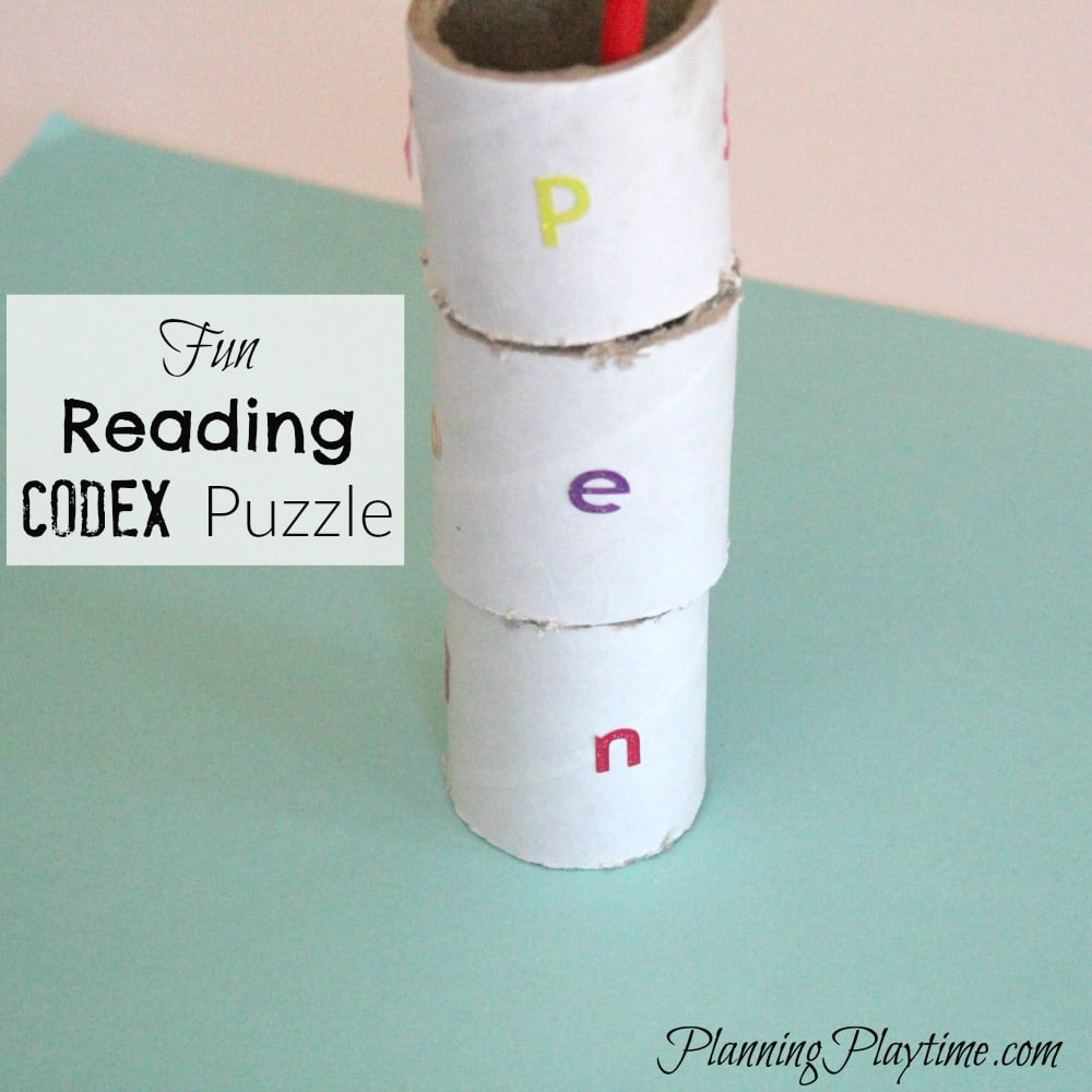 A Great Reading Activity for Kids – CVC Codex Puzzle