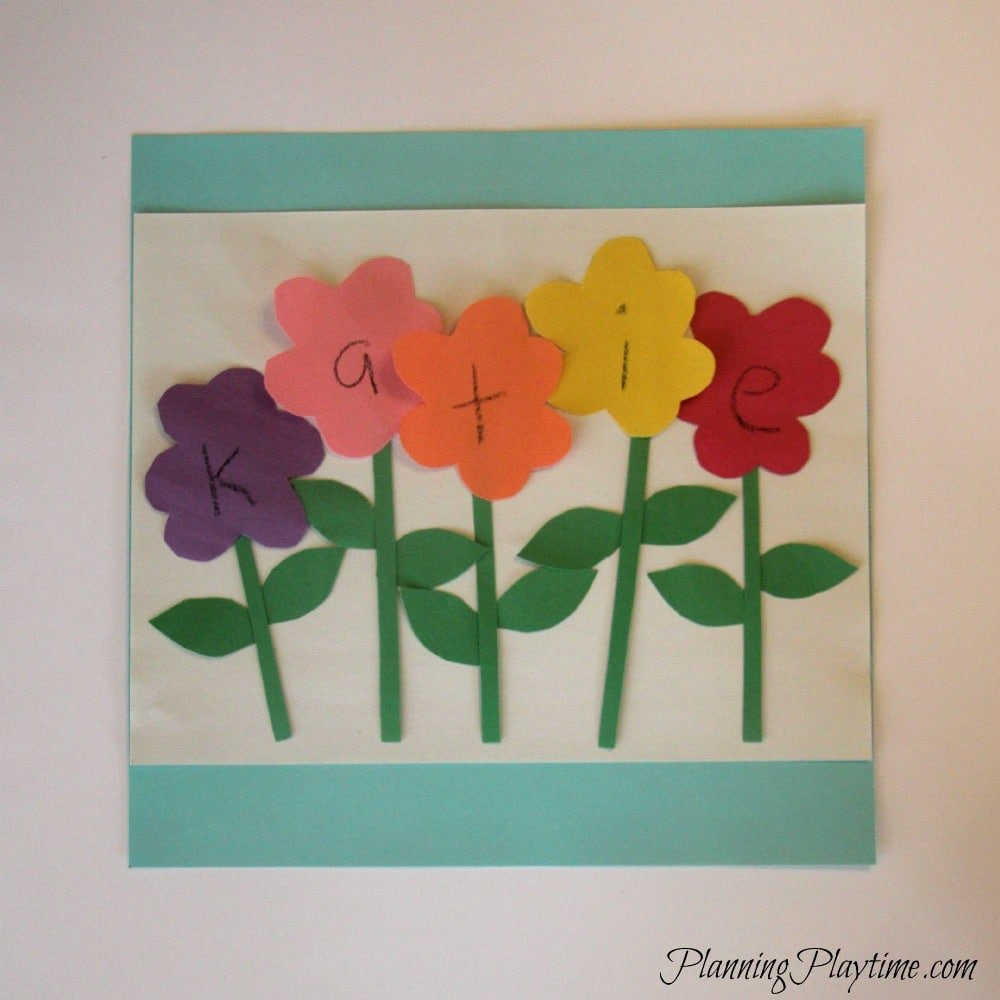 5 Adorable Preschool Name Crafts