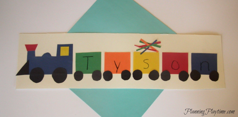 5 Adorable Preschool Name Crafts