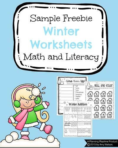 math worksheet : 1st grade december math and literacy worksheets  planning playtime : Math Today Worksheets