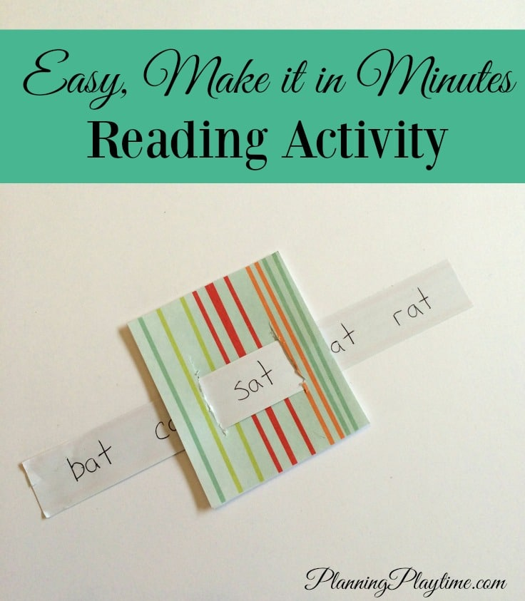 Fun, Easy Reading activity for Kindergarten and 1st Grade readers.