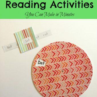 Fun & Easy Reading Activities for Kindergarten