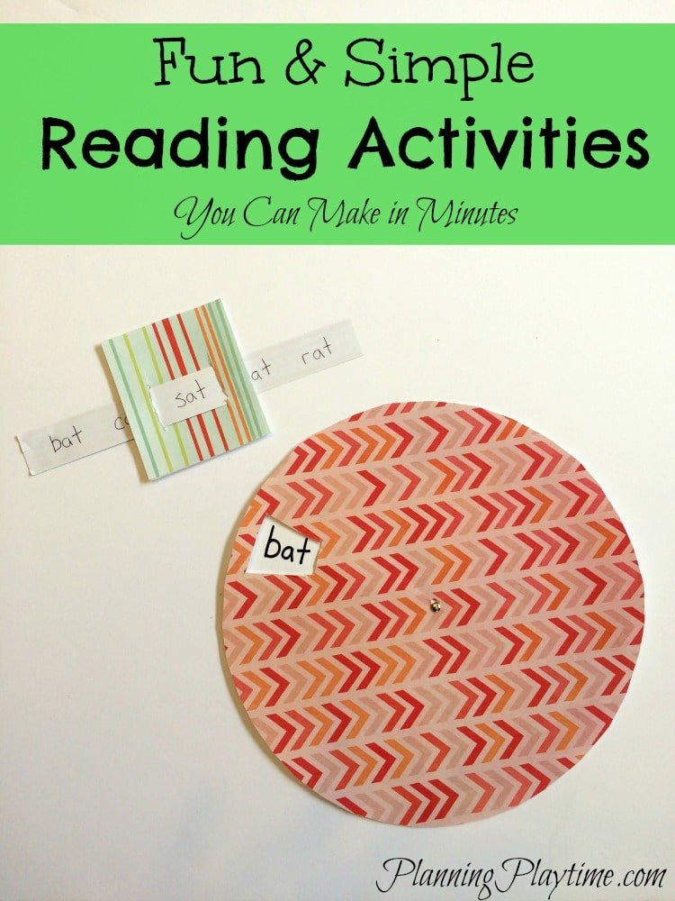 Fun Reading Activities for Kids