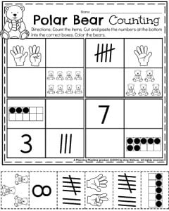 polar bear math worksheet addition polar best free printable worksheets. Black Bedroom Furniture Sets. Home Design Ideas
