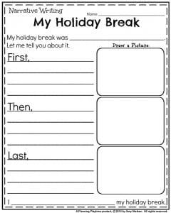 How i spent my holidays essay for kids