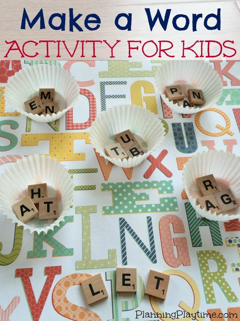 CVC Word Game for Kindergarten