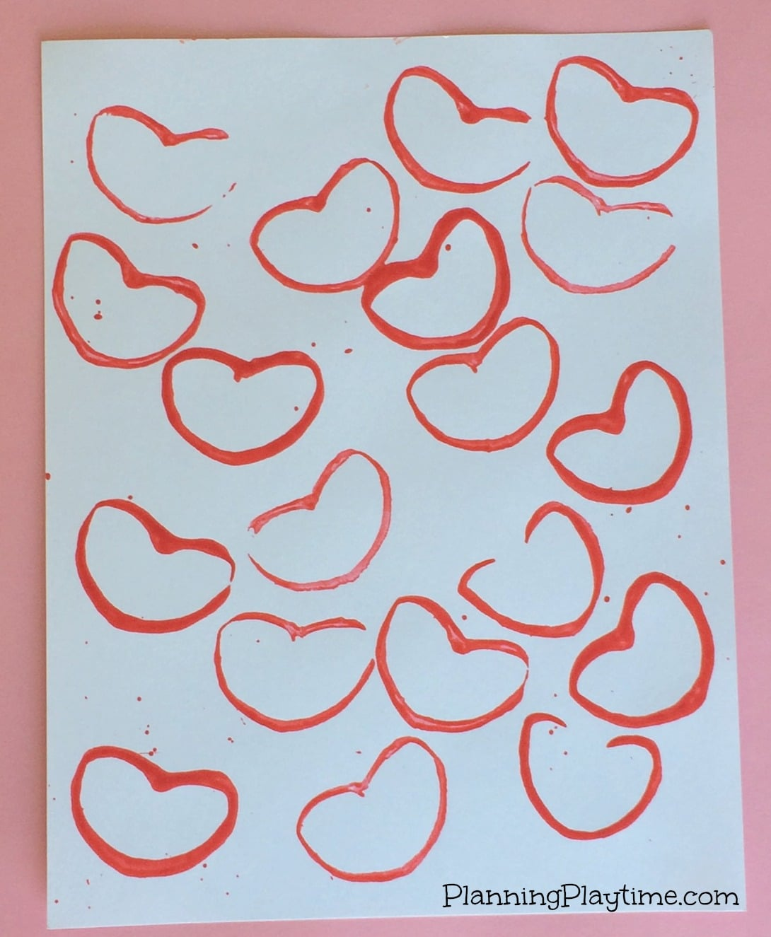 Cute Valentine\'s Day Craft for Kids - Planning Playtime