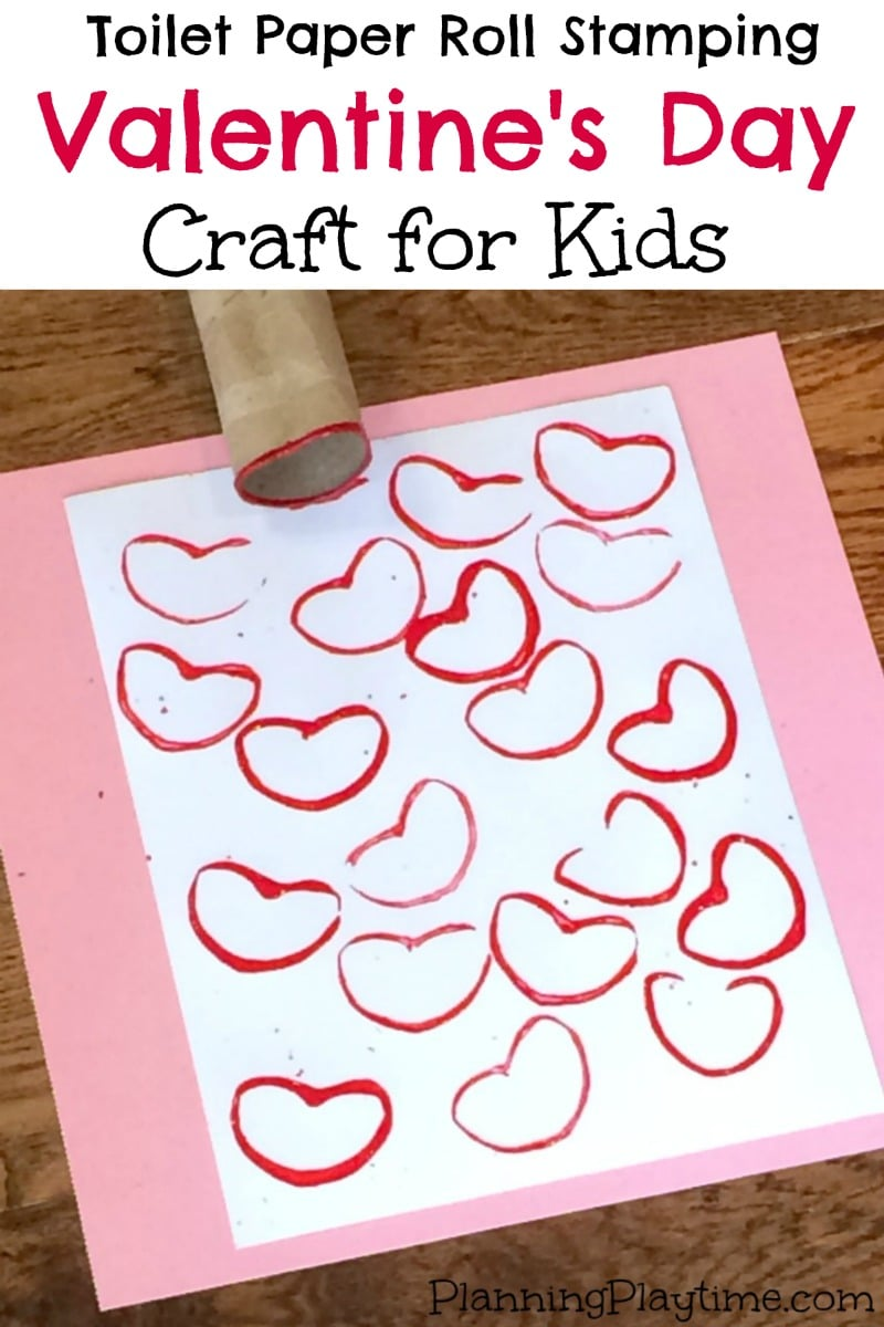 Cute valentine 39 s day craft for kids planning playtime for Kids valentines day craft