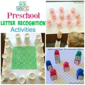 letter recognition activities for toddlers educational activities planning playtime 21945