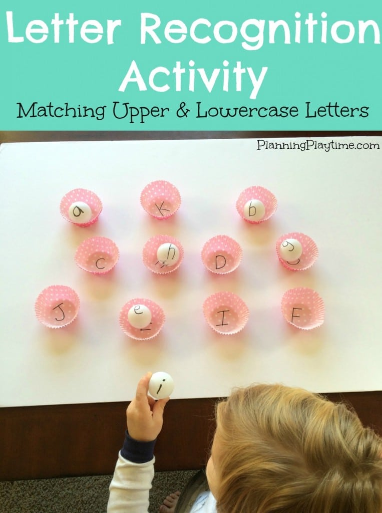 Preschool Letter Recognition Activities.