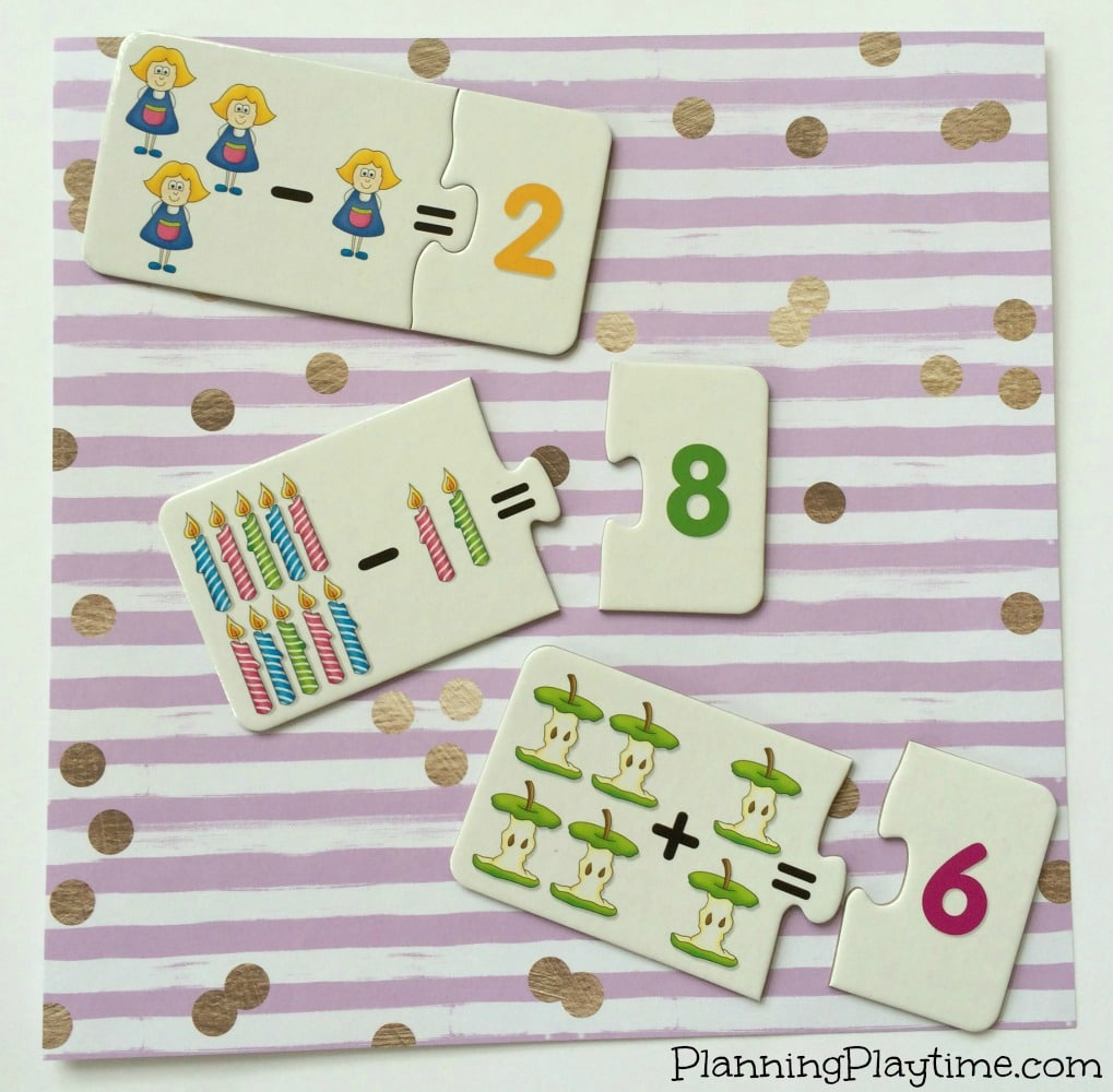 Awesome math puzzles for kids, and other educational puzzles.