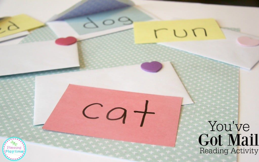 Cute You've Got Mail Reading Activity for Kids