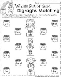 Printables Digraph Worksheets digraphs worksheets for first grade versaldobip digraph scalien