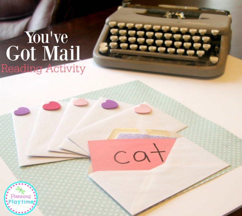 You've Got Mail - Fun Reading activty for kids.