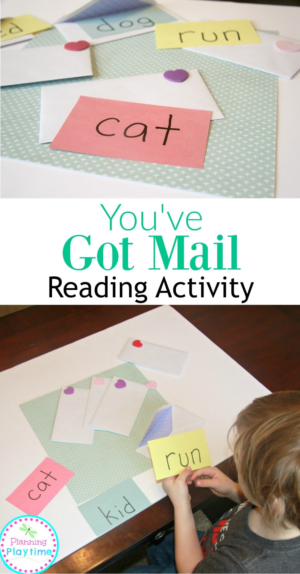 You've Got Mail Reading Activity for Kids