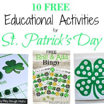 10 FREE Educational Printables for St. Patrick's Day