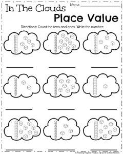 spring kindergarten worksheets  planning playtime april kindergarten worksheets  spring math