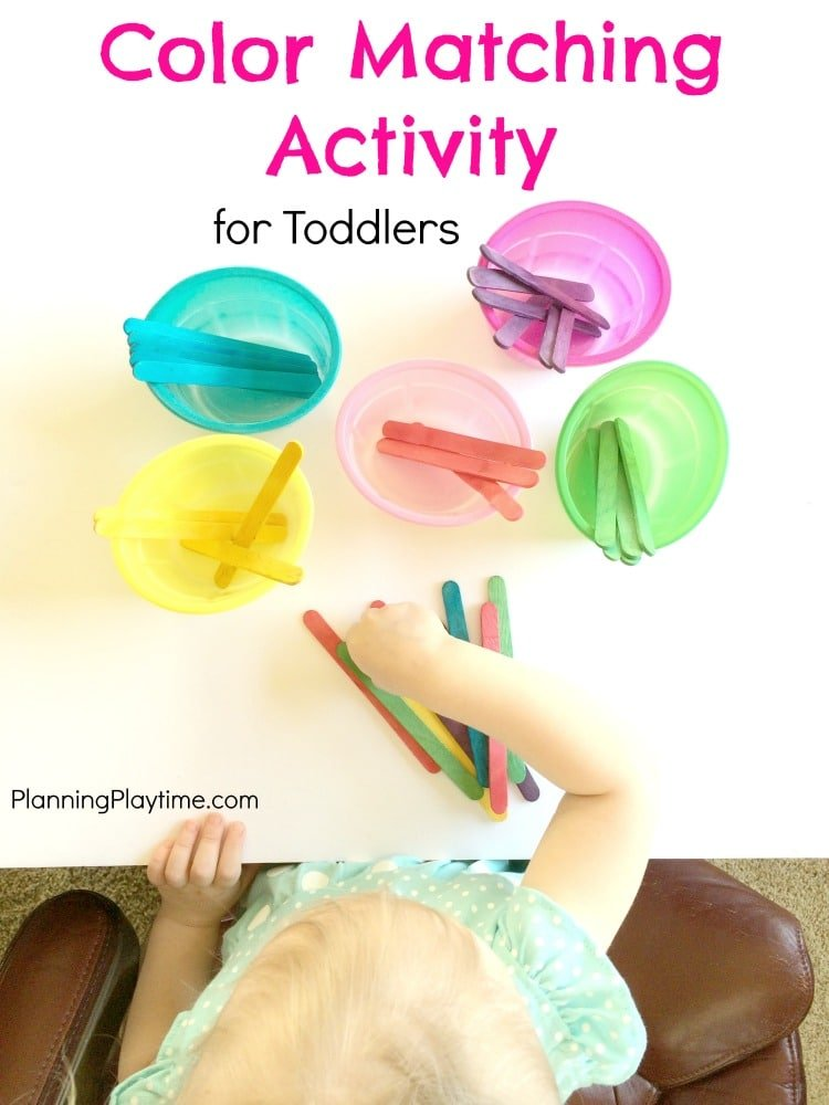 Fun Color Matching Activity for Toddlers