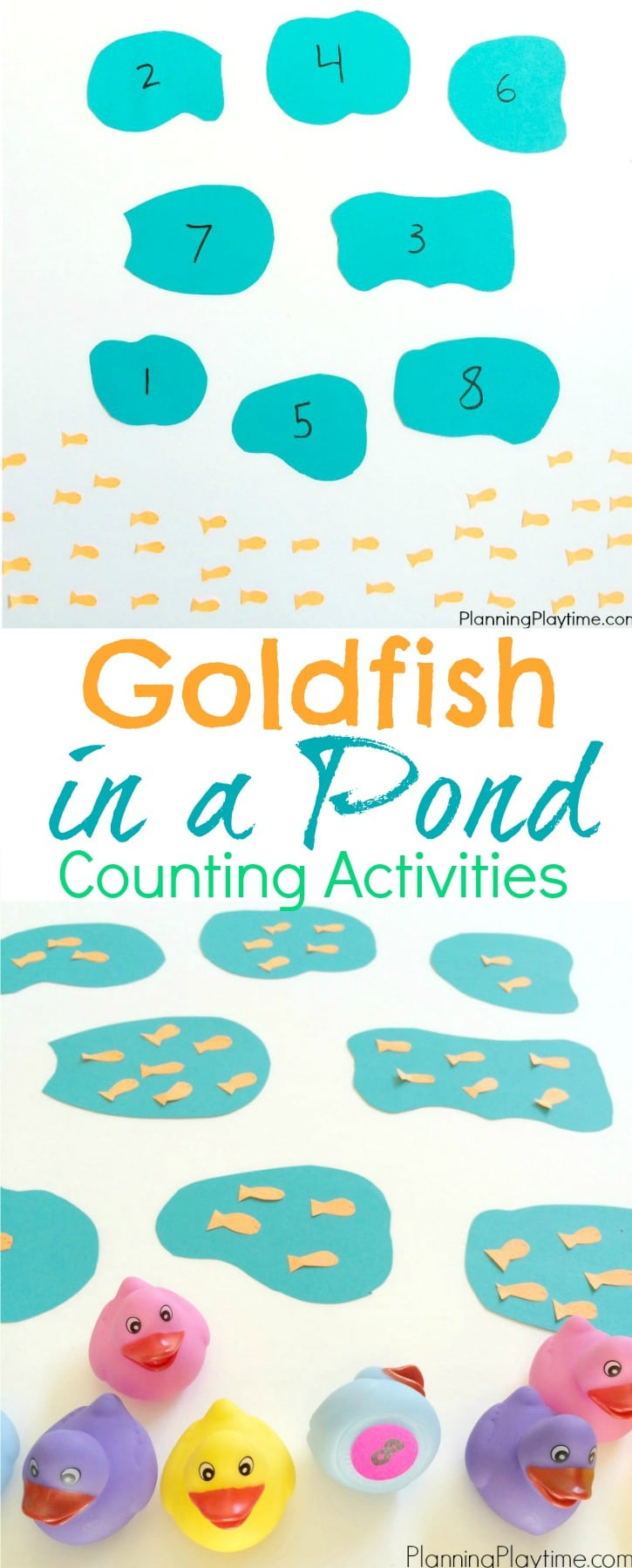 Goldfish Counting Activities