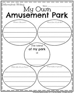 Essay on amusement parks usa map