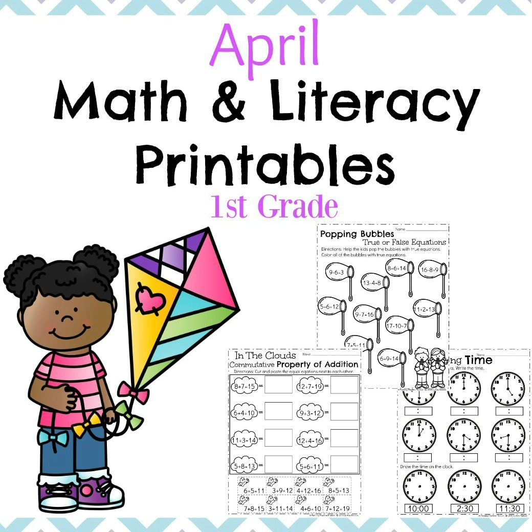First grade math worksheets online free