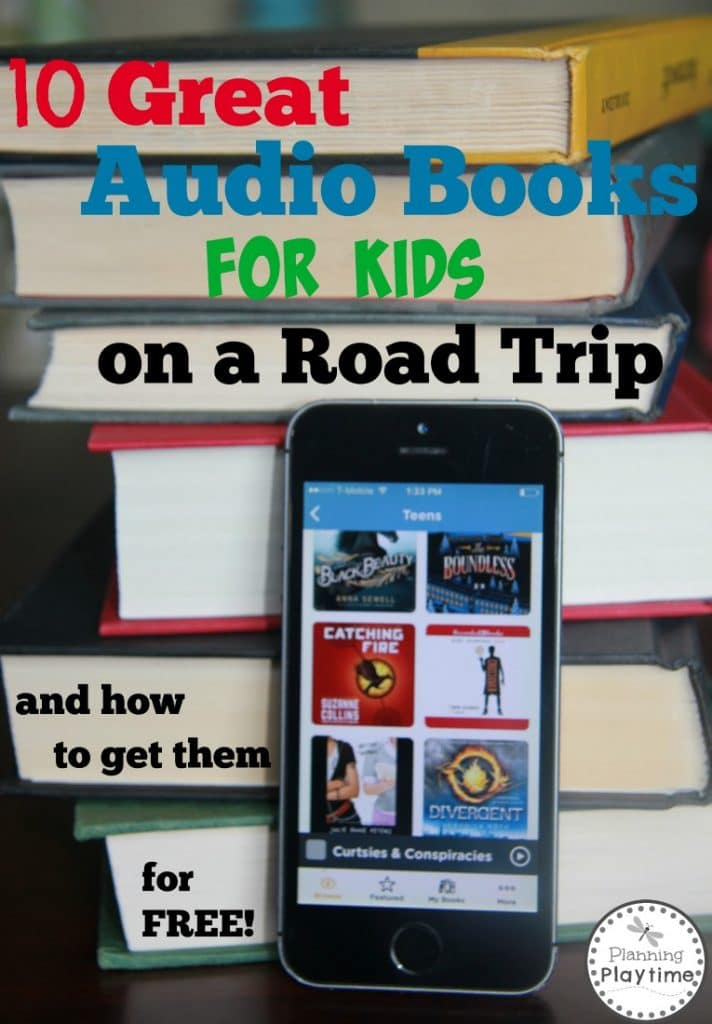 10 Great Audio Books for Kids on a Road Trip