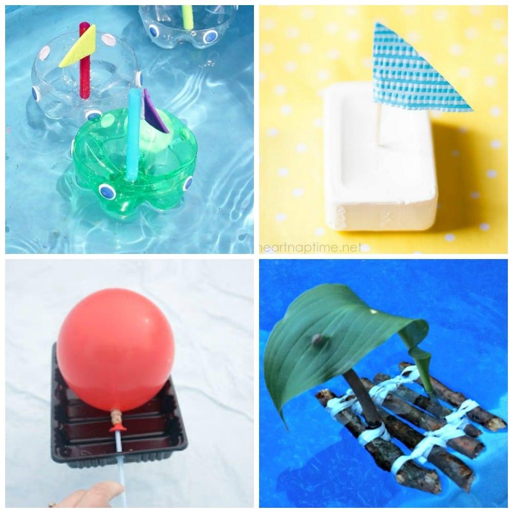 15 Fun Boat Crafts for Kids. So fun!!