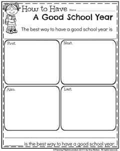 End of the Year Writing Prompts - Informative Writing How to Have a Good School Year.