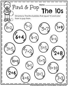 Kindergarten Math and Literacy Printables 1