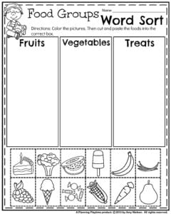 English Worksheets: food groups | Educational/homeschool ...