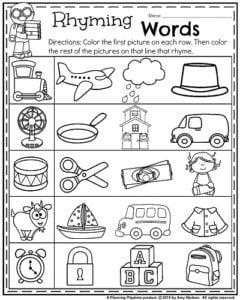 math worksheet : rhyming worksheets kindergarten cut paste  cvc word families no  : Rhyming Worksheets For Kindergarten