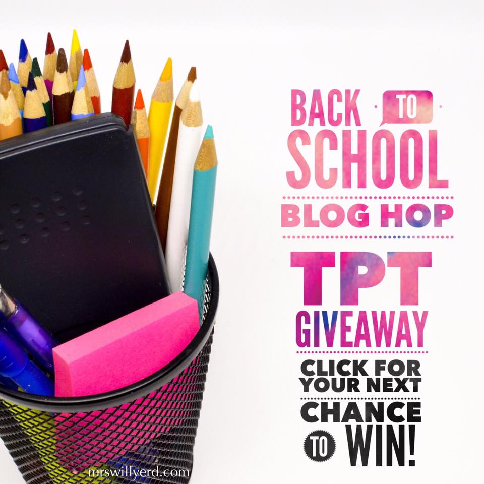 Back to School Gift Card Giveaway Hop
