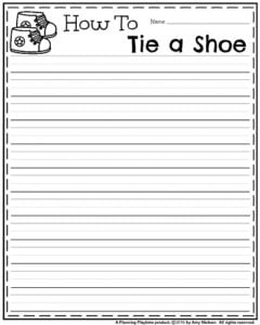Draft Page - How to Tie a Shoe