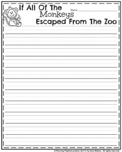 Draft Page - If all of the Monkeys Escaped from the Zoo